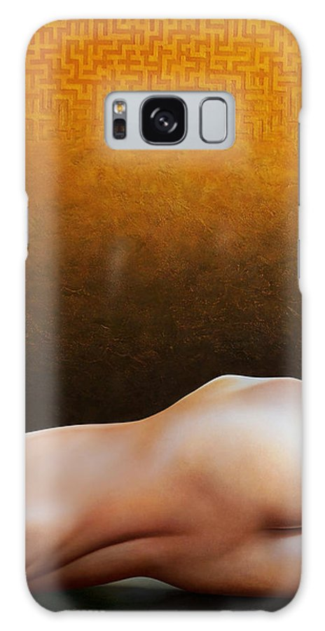 Nude Galaxy S8 Case featuring the painting Bodyscape 1 by Horacio Cardozo
