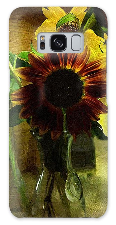 Still Life Galaxy S8 Case featuring the painting Bottled Sunshine by RC DeWinter