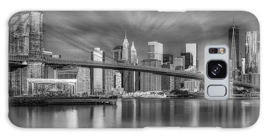 Brooklyn Bridge Galaxy S8 Case featuring the photograph Brooklyn Bridge From Dumbo by Susan Candelario