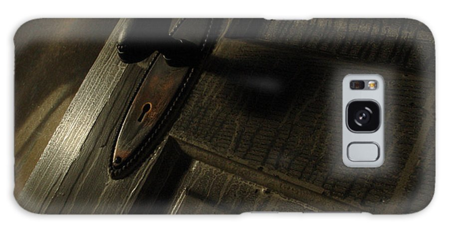 Ghostly Galaxy Case featuring the photograph Burned Knob 02 by Peter Piatt
