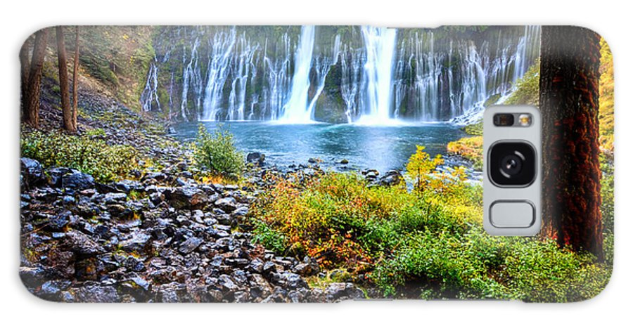 Burney Falls Galaxy S8 Case featuring the photograph Burney Falls by Kelly Wade