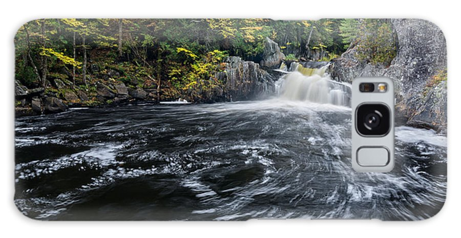Buttermilk Falls Galaxy S8 Case featuring the photograph Buttermilk Falls Gulf Hagas Me. by Michael Hubley