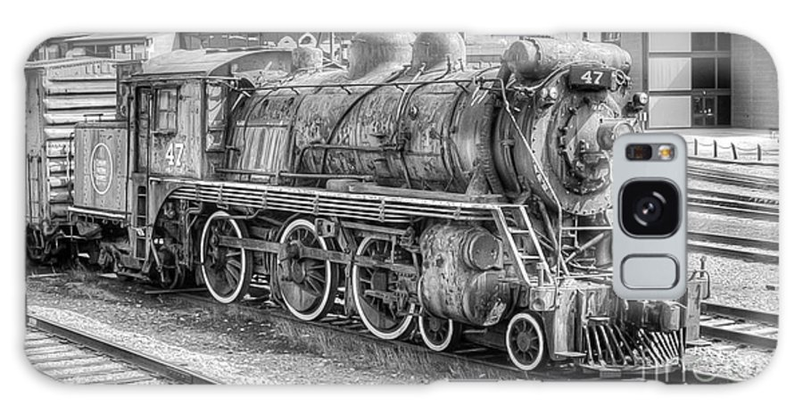 Trains Galaxy S8 Case featuring the photograph Canadian National 47 by Anthony Sacco