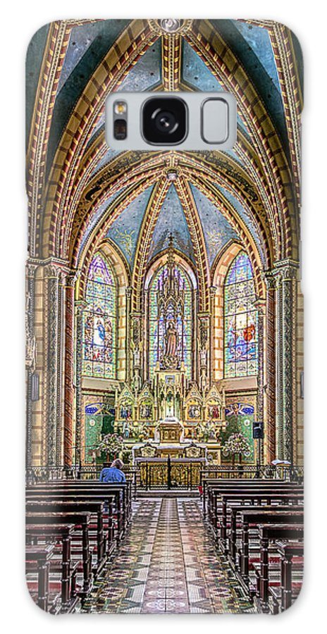 Architecture Galaxy S8 Case featuring the photograph Chapel by Maria Coulson
