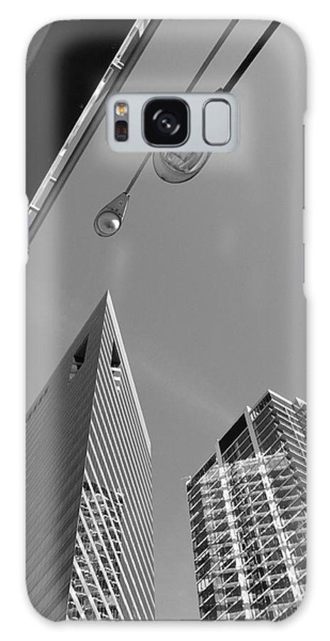 America Galaxy S8 Case featuring the photograph Chicago Cityscape by Frank Romeo