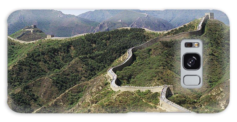 Afar Galaxy S8 Case featuring the photograph China, Mu Tian Yu by Gloria & Richard Maschmeyer - Printscapes