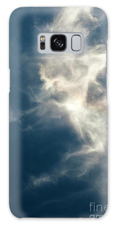Atmosphere Galaxy S8 Case featuring the photograph Cirrus Clouds With Nature Patterns by Jim Corwin