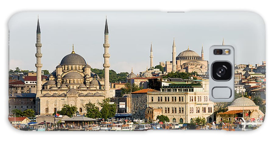 Landmark Galaxy S8 Case featuring the photograph City Of Istanbul by Artur Bogacki