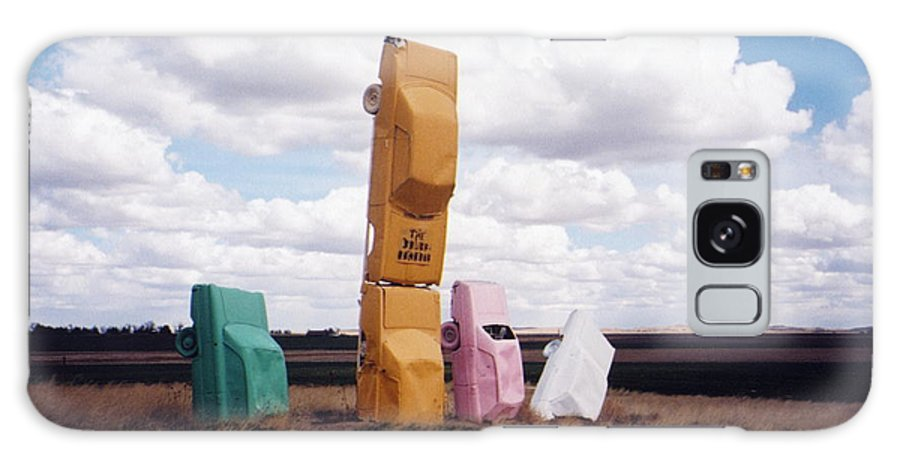 Car Henge Galaxy S8 Case featuring the photograph Colorful Cars by Denise Keegan Frawley
