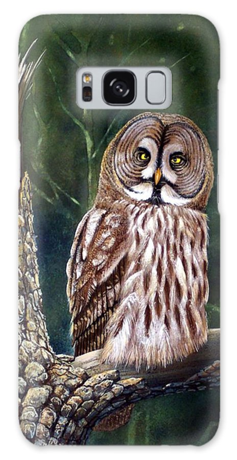 Wildlife Galaxy S8 Case featuring the painting Deep In The Woods by Frank Wilson