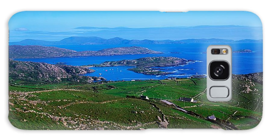 Barren Galaxy S8 Case featuring the photograph Derrynane Harbour, Caherdaniel, Ring Of by The Irish Image Collection