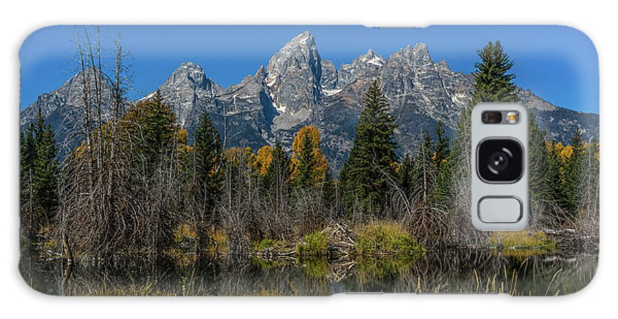 Schwabacher's Landing Galaxy S8 Case featuring the photograph Dressed For Fall by Yeates Photography