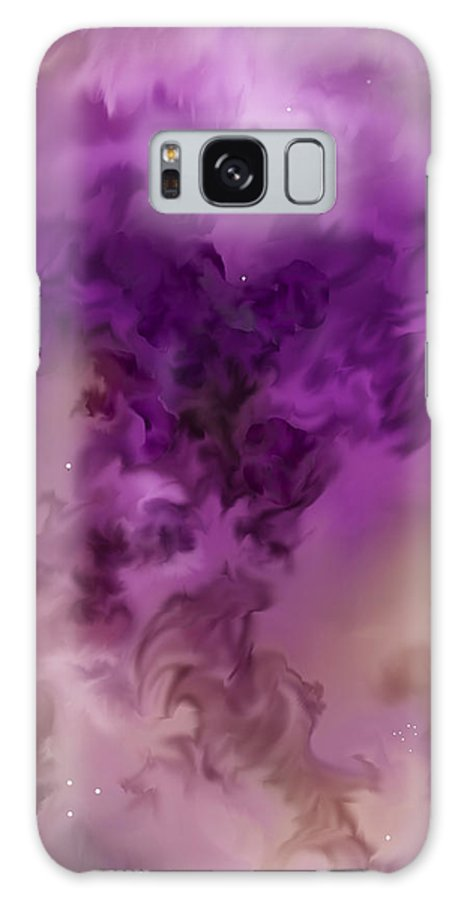 Starscape Galaxy Case featuring the painting Eagle Nebula From The Hubble by Anne Norskog