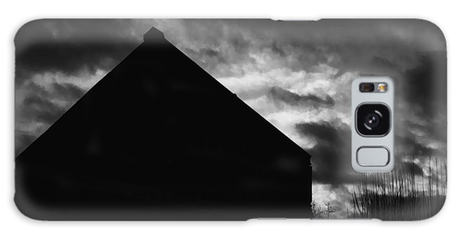 Black And White Galaxy Case featuring the photograph Early Morning by Peter Piatt