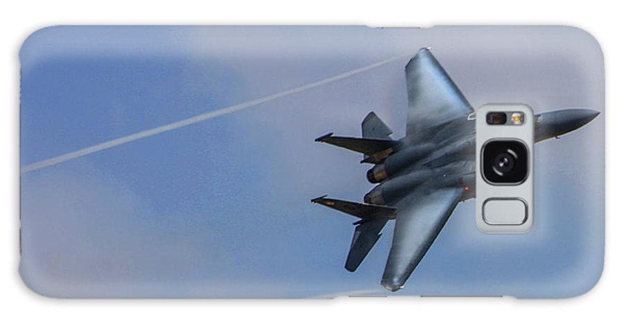 Usaf Galaxy S8 Case featuring the photograph F-15 Strike Eagle by Tommy Anderson