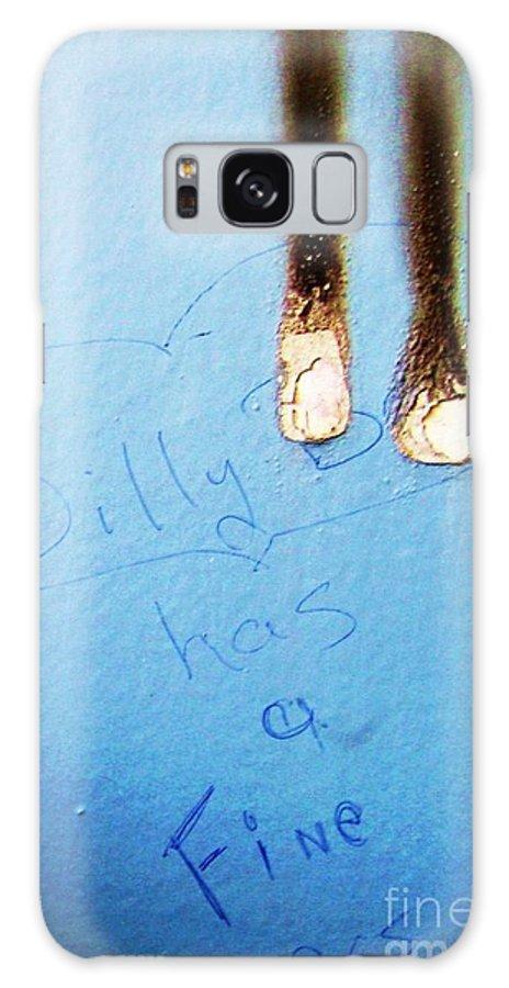 Photograph Fine Ass Blue Galaxy S8 Case featuring the photograph Fine Ass by Seon-Jeong Kim