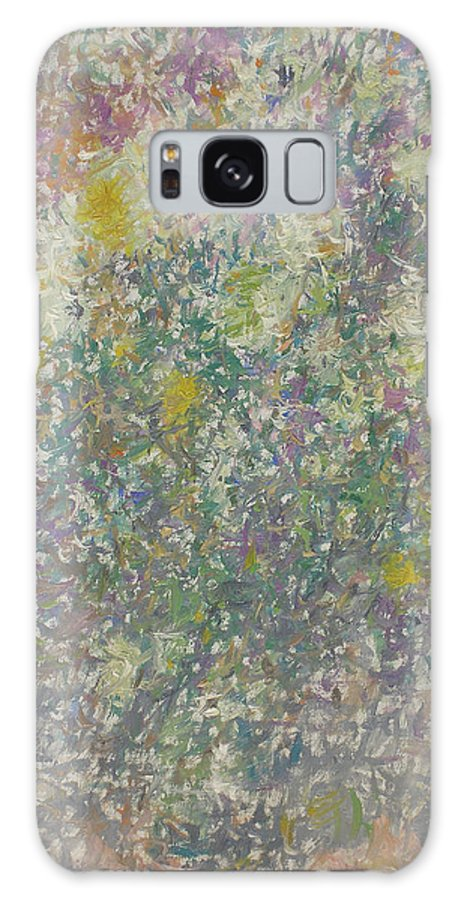 Bouquet Galaxy S8 Case featuring the painting Flowers by Robert Nizamov