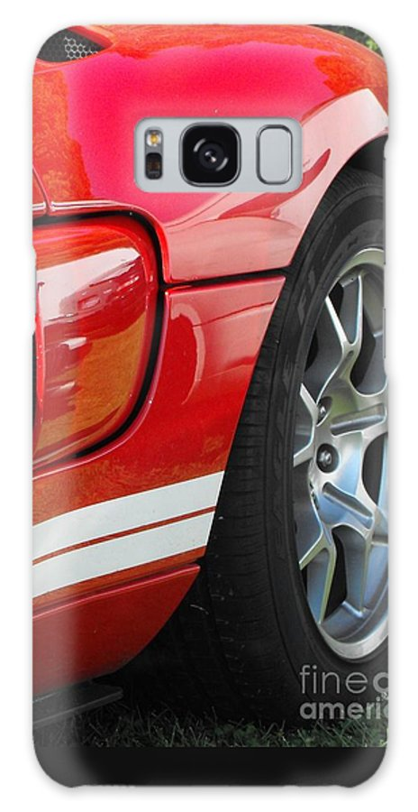 Ford.car Galaxy S8 Case featuring the photograph Ford Gt by Neil Zimmerman