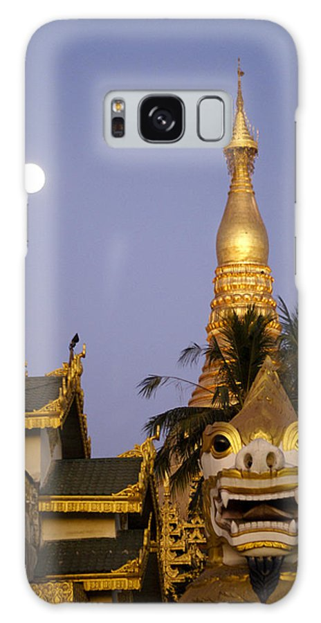 Burma Galaxy S8 Case featuring the photograph Full Moon In Burma by Michele Burgess
