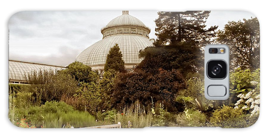 Garden Galaxy S8 Case featuring the photograph Garden Conservatory by Jessica Jenney