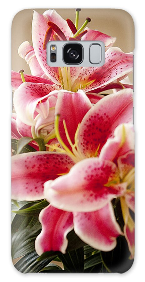 Flora Galaxy S8 Case featuring the photograph Graceful Lily Series 13 by Olga Smith