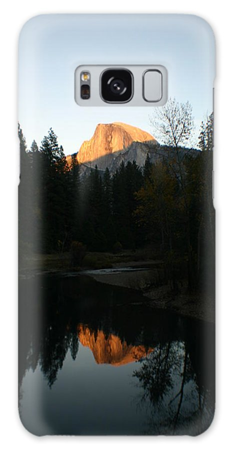 Half Dome Galaxy S8 Case featuring the photograph Half Dome Sunset by Travis Day