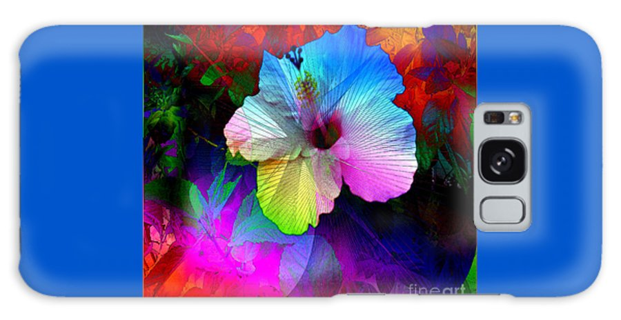 Photograph Galaxy S8 Case featuring the digital art Heavenly Blooms by Iris Gelbart