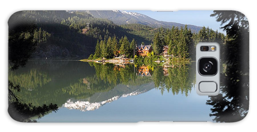 House Galaxy S8 Case featuring the photograph House On Green Lake Whistler B.c Canada by Pierre Leclerc Photography