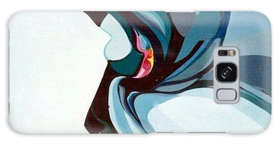 Bird Galaxy Case featuring the painting Hummer by Marlene Burns