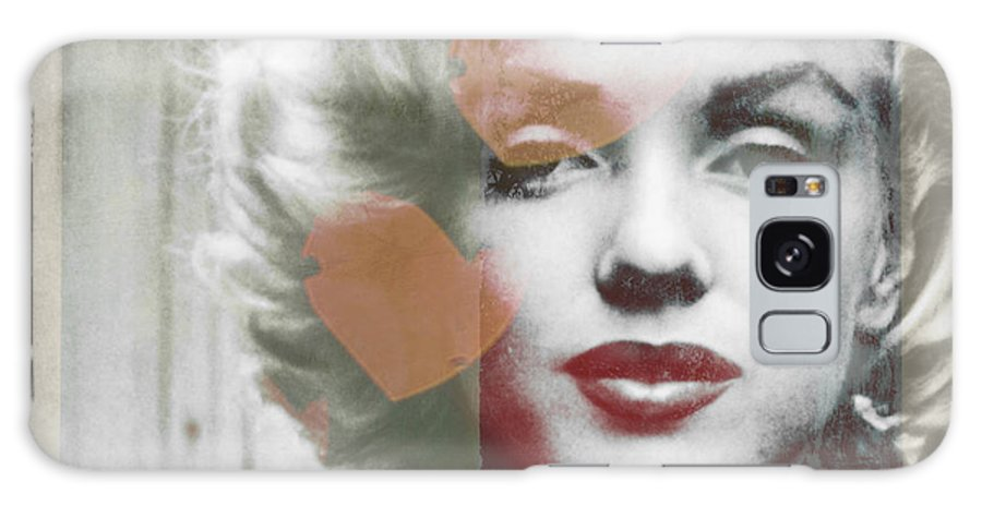 Marilyn Monroe  Galaxy Case featuring the painting I Will Always Love You by Paul Lovering