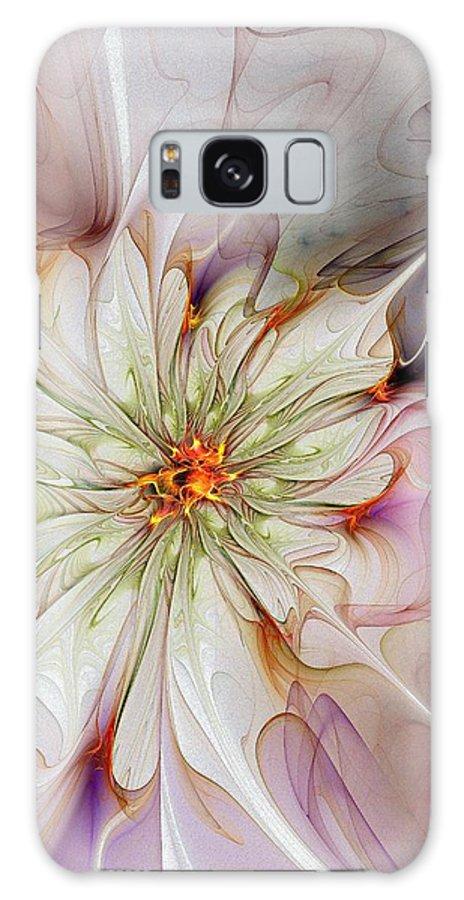 Digital Art Galaxy S8 Case featuring the digital art In Full Bloom by Amanda Moore