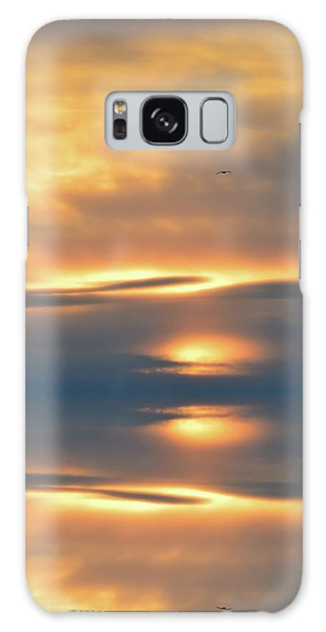 Abstract Galaxy S8 Case featuring the digital art In The Sky by Lyle Crump