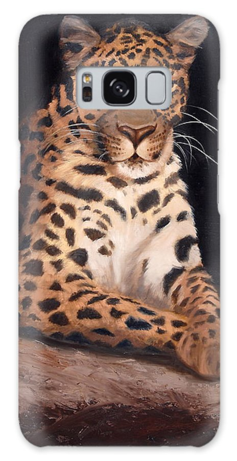 Wildlife Galaxy S8 Case featuring the painting Intrigued by Greg Neal