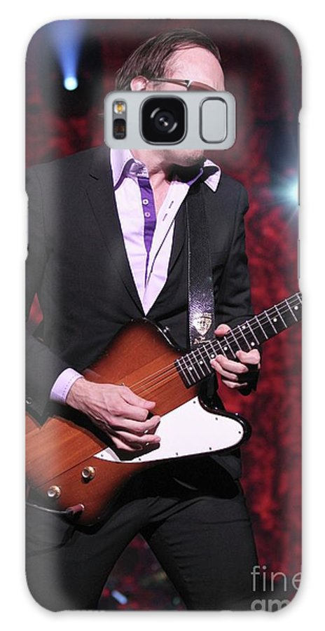 Blues Rock Guitarist Galaxy S8 Case featuring the photograph Joe Bonamassa by Concert Photos