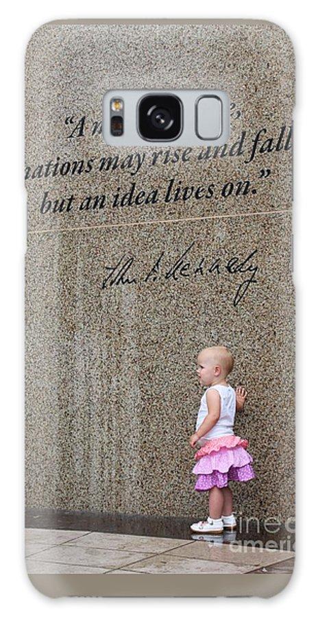 John F. Kennedy Galaxy S8 Case featuring the photograph John F. Kennedy Memorial by Venus