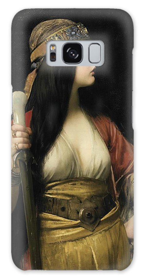 Jules Joseph Lefebvre - Judith Galaxy S8 Case featuring the painting Judith by MotionAge Designs