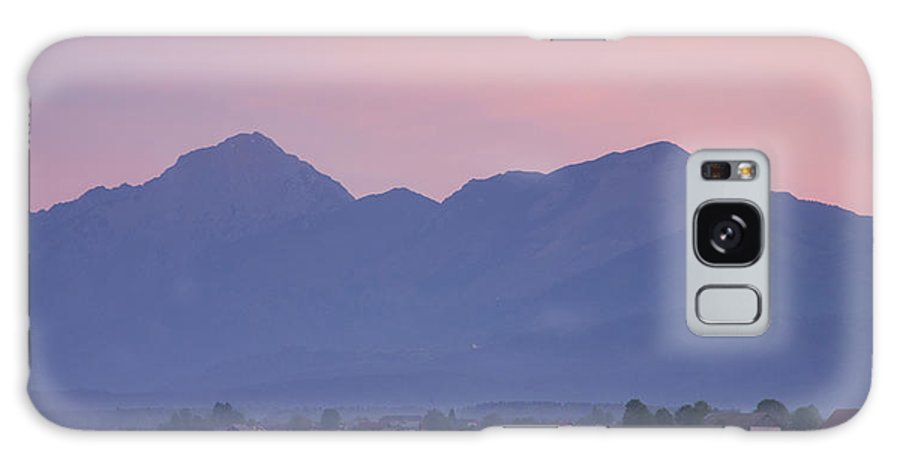 Brnik Galaxy S8 Case featuring the photograph Kamnik Alps At Dawn by Ian Middleton