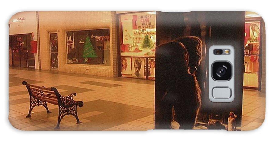 King Kong Remake Poster Mall Casa Grande Arizona Christmas 2005 Galaxy S8 Case featuring the photograph King Kong Remake Poster Mall Casa Grande Arizona Christmas 2005 by David Lee Guss