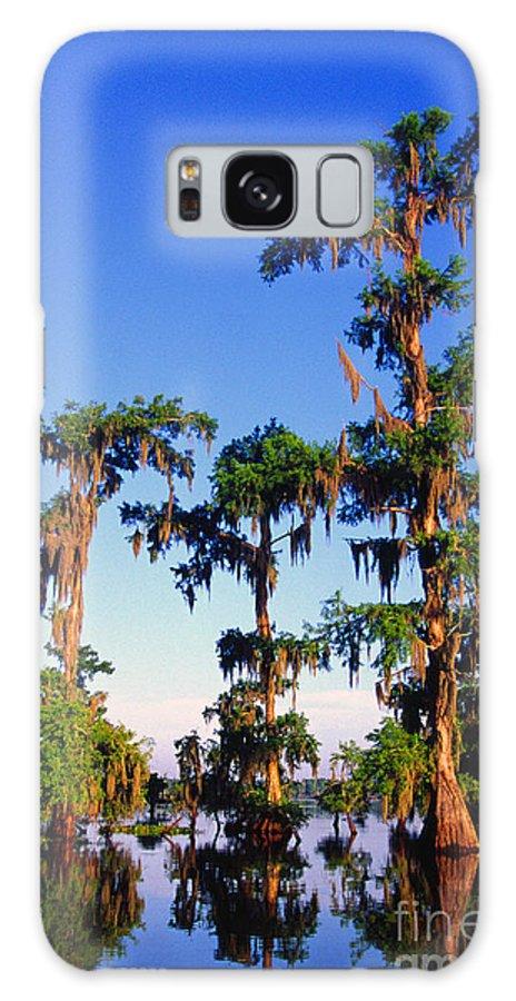 St Martin Parish Galaxy S8 Case featuring the photograph Lake Martin Cypress Swamp by Thomas R Fletcher