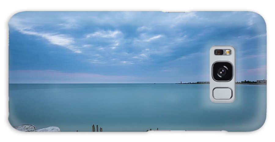 Lake Galaxy S8 Case featuring the photograph Lake Michigan by Thomas Visintainer
