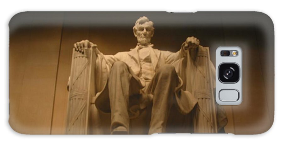 Abraham Lincoln Galaxy S8 Case featuring the painting Lincoln Memorial by Brian McDunn