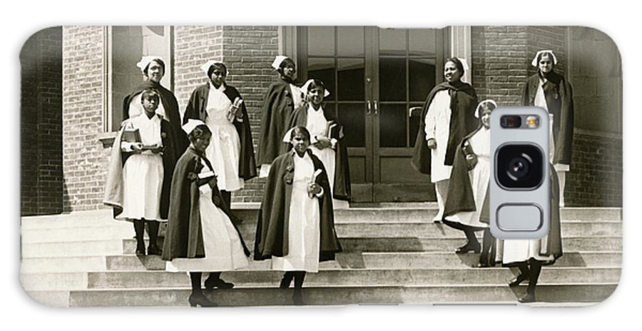 1920s Galaxy S8 Case featuring the photograph Lincoln School For Nurses by Underwood Archives