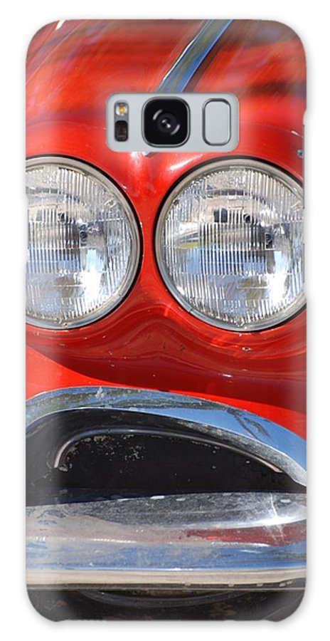 Corvette Galaxy Case featuring the photograph Little Red Corvette by Rob Hans
