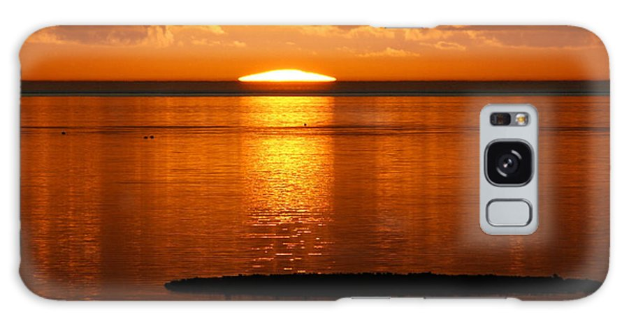 Sunset Galaxy Case featuring the photograph Looking For The Green Flash by Debbie May