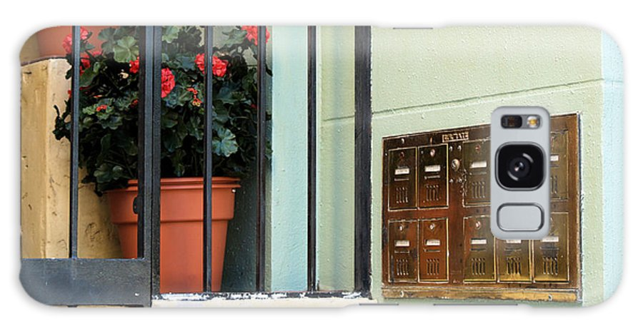 Mailboxes Galaxy S8 Case featuring the photograph Mailboxes by Nora Martinez