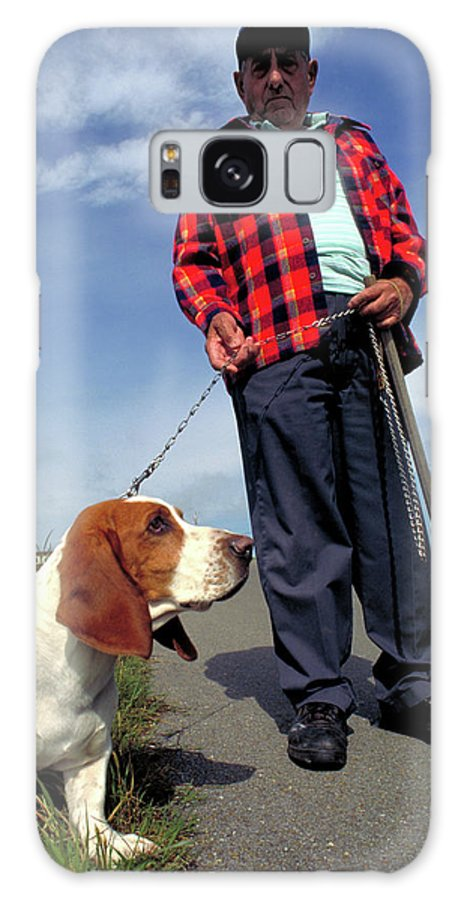 Cane Galaxy S8 Case featuring the photograph Man's Best Friend by Carl Purcell