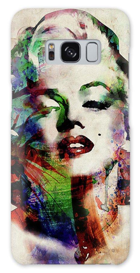Marilyn Galaxy Case featuring the digital art Marilyn by Michael Tompsett