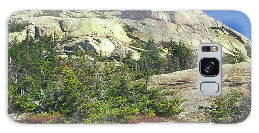 Mount Chocorua Galaxy S8 Case featuring the photograph Mount Chocorua Granite Summit by John Burk