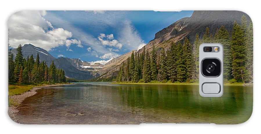 Nature Galaxy Case featuring the photograph Moutain Lake by Sebastian Musial