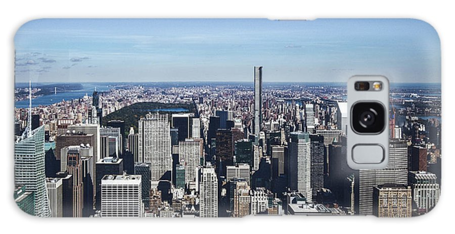New Galaxy S8 Case featuring the photograph New York by Brock Wilson